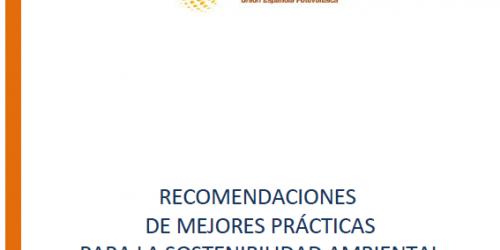 UNEF presenta un documento con recomendaciones y mejores prácticas para la sostenibilidad mediambiental de las instalaciones fotovoltaicas