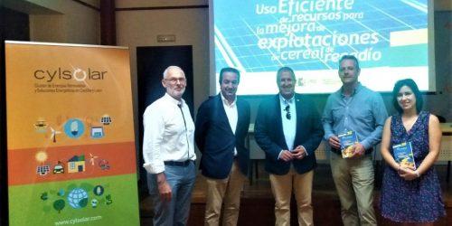La Diputación de Ávila presentó en Arévalo el Grupo Operativo de Agroeficiencia
