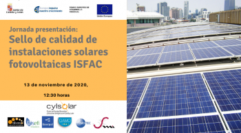 Presentamos el sello de calidad de instalaciones solares fotovoltaicas